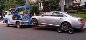 Những lưu ý khi phải kéo xe do gặp sự cố