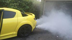 Nguyên nhân và cách khắc phục khi xe nhả khói